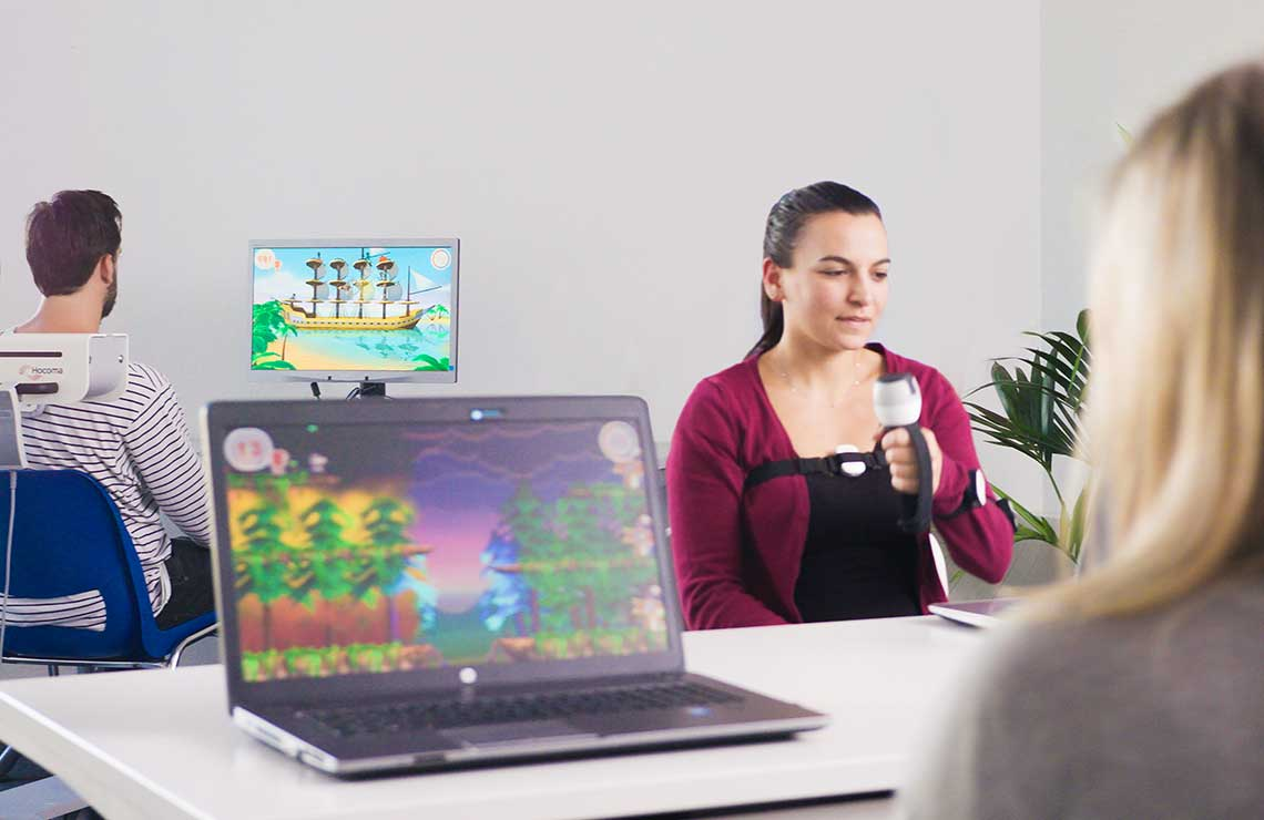 Innovative Therapie-Robotik: der Armeo®Senso bei Frehe + Watzl