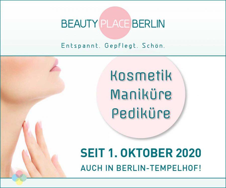 BEAUTY PLACE BERLIN neu in Tempelhof seit 1. Oktober