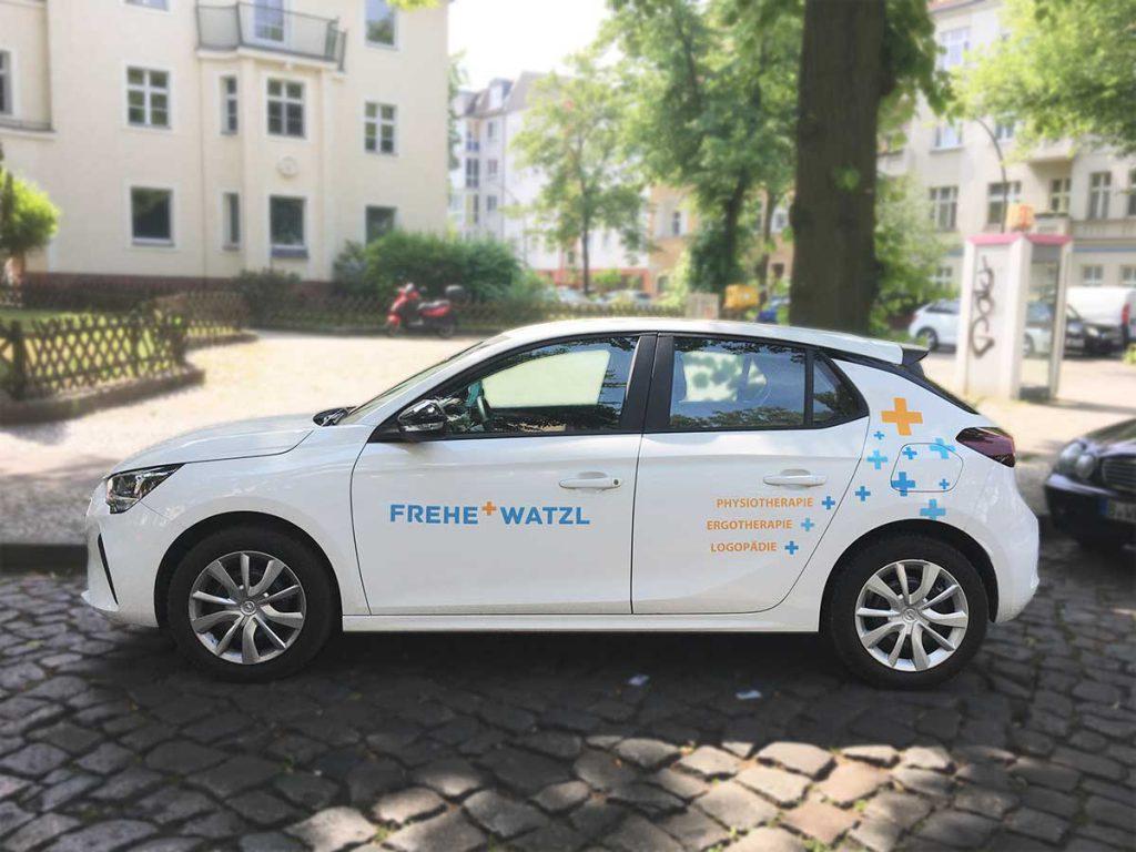 Das Mobil-Team von Frehe + Watzl verfügt über eigene Fahrzeuge.