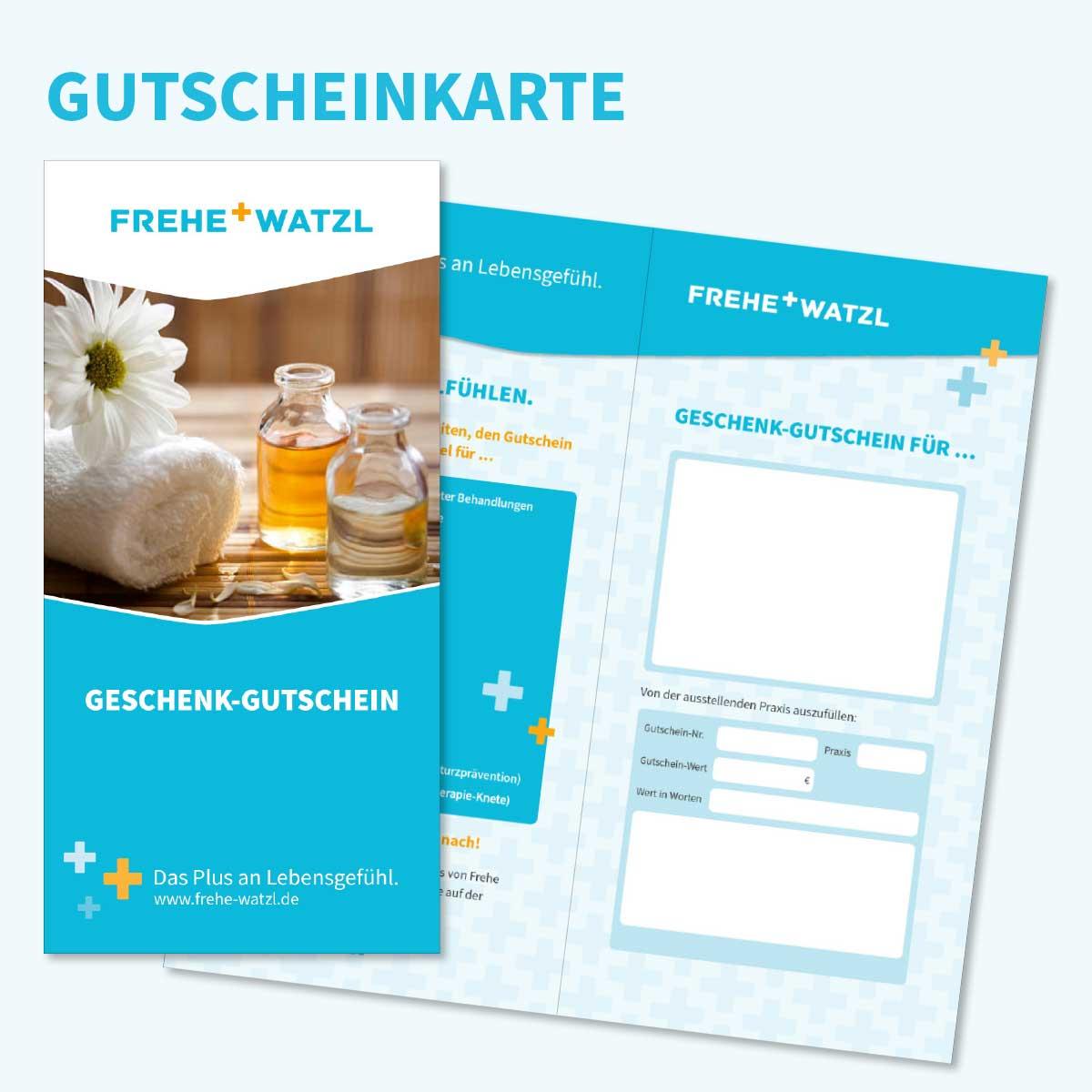 Gutscheinkarte von Frehe + Watzl an allen Standorten kaufen