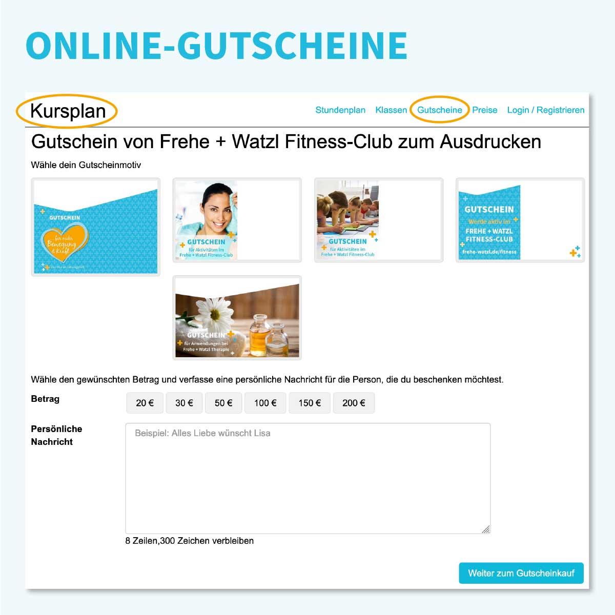 Gutscheine von Frehe + Watzl online kaufen