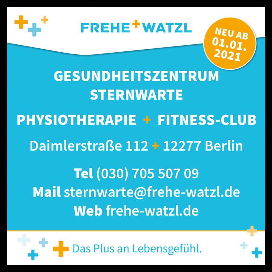 Neuer Standort Gesundheitszentrum Sternwarte in Marienfelde ab 01.01.2021