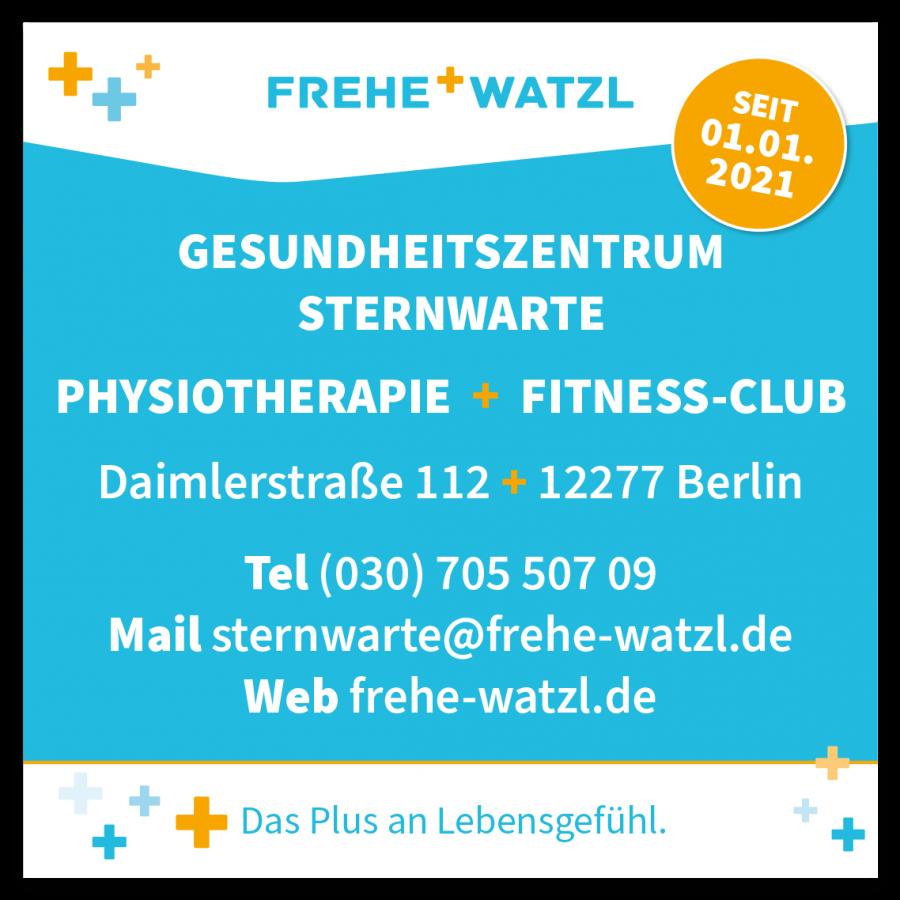 Neuer Standort Gesundheitszentrum Sternwarte in Marienfelde seit 01.01.2021