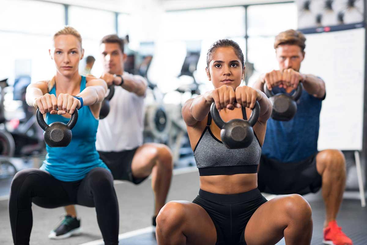 HIIT-Kurse im Frehe + Watzl Fitness-Club