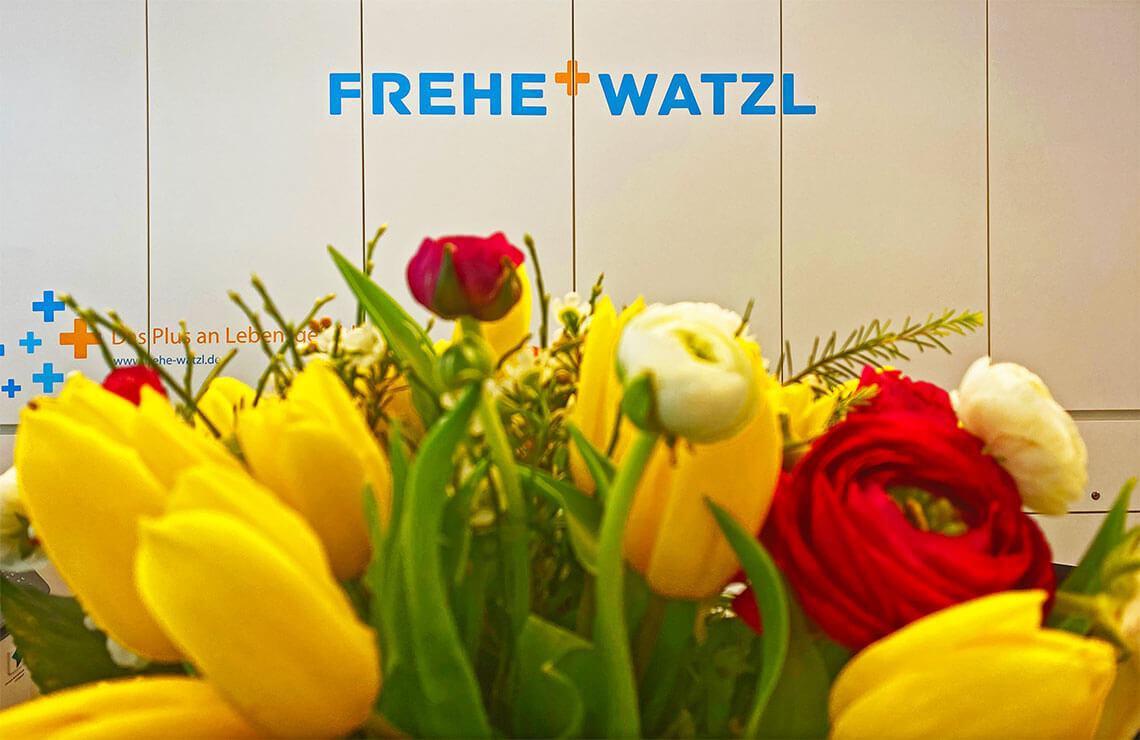 Standorte der Frehe + Watzl Therapie GmbH